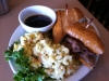 French-Dip-With-Mac-Salad